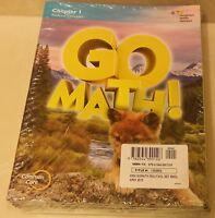 GO Math!: 13-Volume Student Edition Grade 1 2015 Common Core Practice Homeschool