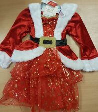 Children's Mrs Christmas Fancy Dress Costume Aged 3-6 Months