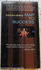 Barbara Sher's Map to Success New Sealed VHS Video