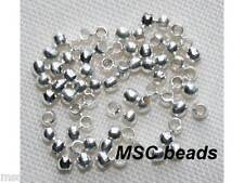 500 CRIMP BEADS Silver Black Antique Gold plated Nickel free 1.5mm 2mm 2.5mm 3mm