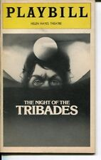 Max Von Sydow Werner Klemperer The Night Of The Tribades Opening Night Playbill