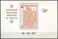 Malta Military Order At Vatican City 1980 MNH M/S #D40585