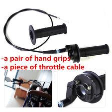 "Set 36"" Throttle Cable Handle Bar Set Grip Casing For Honda  for 7/8"" 22MM bar"