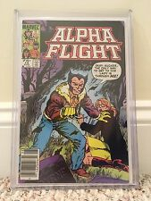 Alpha Flight #13 75¢ Price CGC-CENSUS-VARIANT Canadian Newsstand Wolverine Cover