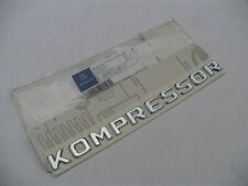 Emblem Badge Decal Trunk Rear Chrome for KOMPRESSOR E63 GL GLA S63 SL GLK J23