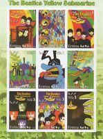 THE BEATLES LENNON MCCARTNEY YELLOW SUBMARINE ERITREA 2003 MNH STAMP SHEETLET