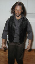 "1/6 12"" DARYL DIXON Custom Head FIGURE crossbow Walking Dead NORMAN REEDUS"