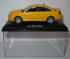 IXO ALTAYA AUDI RS6 JAUNE 1/43 in BOX