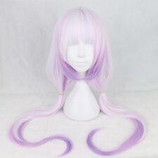 Cosplay Colored Wig Purple Gradient Lolita Hair Long Straight Anime Costume Wig