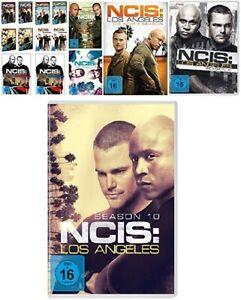 60 DVDs * NAVY CIS / NCIS LOS ANGELES - SEASON / STAFFEL 1-10 IM SET # NEU OVP +