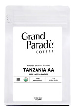 Organic Tanzania Kilimanjaro Coffee, Fresh Medium Roasted Whole Beans |12oz Bag
