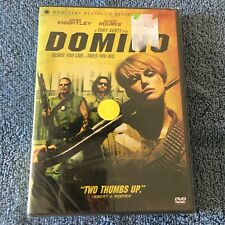 Domino (DVD, 2006, Full Screen) Brand New Sealed