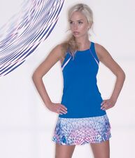 LUCKY IN LOVE  WOMEN'S TENNIS TOP CT175-405 SIZE SMALL ,EXTRA SMALL  NWT