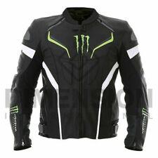 Monster Energy  Motorbike Motorcycle Rider Leather Jacket