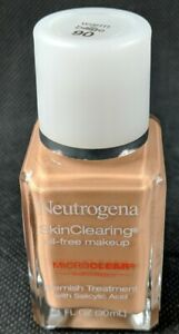 NEUTROGENA SkinClearing Liquid Foundation Blemish Makeup # 90 - WARM BEIGE New