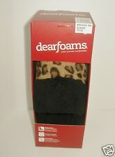 Dearfoams Animal Print Slippers Mules X-Large 11-12 Womens Scuffs NIB Indoor Out