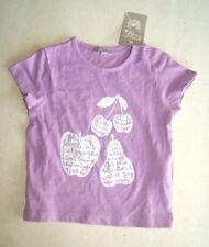Tee-shirt violet neuf taille 6 mois marque Grain de Blé