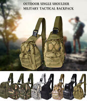 Tactical Chest Bag Backpack Outdoor Shoulder Military Travel Camping Hiking Bag