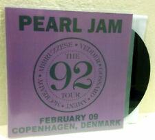 "PEARL JAM - Copenhagen, Denmark 1992, BLACK 7"" EP LIMIT TO 30 COPIES"