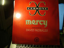 "RAR MAXI 12"". CERRONE. MERCY. REMIXED DAVID MORALES. 2 TRACKS. MADE IN FRANCE"