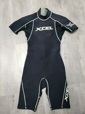 Mens Xcel Hawaii Shorty Wetsuit Black Small