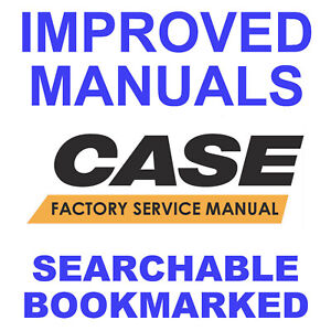 Case CX460 Tier 3 Crawler Excavator Workshop Service Manual - SEARCHABLE - PDF