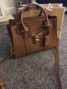 Michael Kors Small Hamilton Leather bag RRP £330 Immaculate