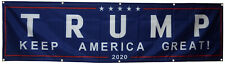 Donald Trump For President 2020 Keep Make America Great flag 2X8FT banner