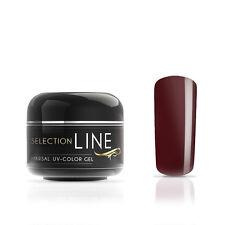 UV Farb Gel Selection Line Marsal 5 ml La Tortura   Dunkel Rot mittelviskos