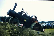 #8 35mm slide - Vintage - Collectibles -Photo - old train hill people