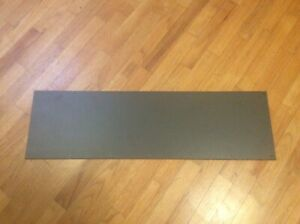 "KICK PLATE BLACK HEAVY  PLASTIC  10 "" X 34 "" FOR 36"" DOORS KICKPLATE"
