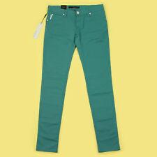 "Calvin Klein Low Rise SKINNY Jeans Green 28"" Waist 34"" Leg - 10uk"