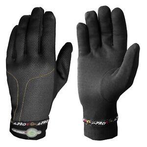 Winter Warm Unisex Motorcycle Motorbike Riding Thermo Gloves Underwear Black
