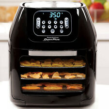 Power Air Fryer Oven All-in-One 6 Quart Plus Dehydrator Best Pro Rotisserie 6QT