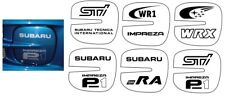 SUBARU IMPREZA WRX STI TYPE RA P1 FOG LIGHT FOGLIGHT DECAL STICKER