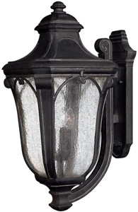Hinkley Trafalgar Collection Traditional Three Light Large Outdoor Wall Mount,