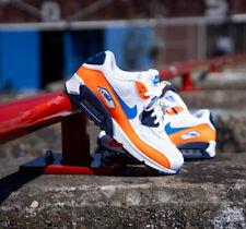 Nike Air Max 90 Essential Total Orange White Size 7.5 Uk 42 Eu (AJ1285-104)