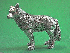 Wolf  figurine , mini statue GIFT BOXED