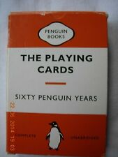 The Playing Cards Sixty Penguin Years - standard whist pack ISBN 0140885927