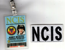 NCIS TV Series ID Badge  - Forensic Scientist Abby and lab coat patch cosplay