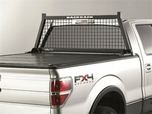 For 2008-2017 Toyota Tundra Cab Protector and Headache Rack Backrack 53155RZ