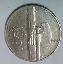 BUONO DA DUE LIRE - 1924 - ORIGINALE