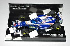 Minichamps F1 1/43 Williams Renault FW19 controlador alemán Frentzen