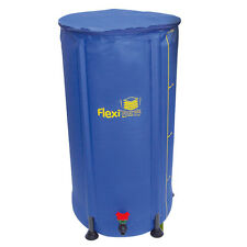 100L FLEXI TANKS FOLD UP COMPACT WATER BUTTS HYDROPONICS