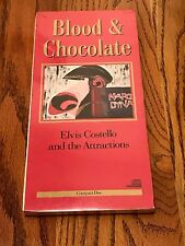 ELVIS COSTELLO BLOOD & CHOCOLATE LONG BOX CD ~ STILL SEALED ~ 1986