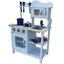 Kinderküche Spielküche Holz Kinderspielküche Weiss Zubehör Spielzeugküche