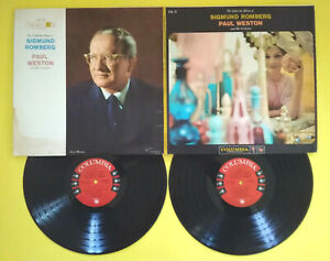LP 33 S.ROMBERG/P.WESTON & His Orchestra The Columbia Album Of Sigmund Romberg