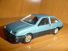 FORD SIERRA COUPE METALLIC BLUE-BLACK 1984 1:43 MINT!!!