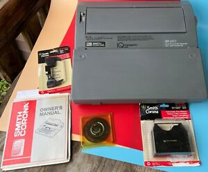 Smith Corona Word Processing Typewriter With Spell Right Dictionary WORKS