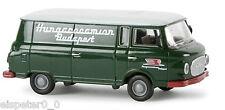 """Barkas B 1000 Kasten """"Hungarocamion"""" TD, H0 Auto Modell 1:87, Brekina 30118"""